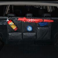 汽车椅背置物袋座椅收纳袋车载后排储物袋后备箱挂袋网兜车内用品