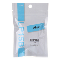 KING JIM 锦宫贴普乐Lite TEPRA标签带 LP15B 蓝色标签纸 LR5C 轻松小熊标签打印纸 15mm