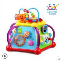 汇乐806快乐小天地婴幼儿童益智多功能玩具台1-3岁宝宝早教游戏桌