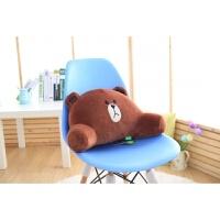 孕妇靠背垫汽车抱枕u型枕靠垫护腰办公室电脑椅子腰靠可爱卡通