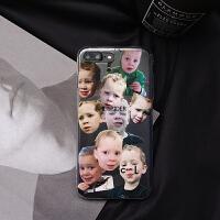 恶搞怪网红男孩搞笑表情包苹果xsmax手机壳iphone7plus/6s/8P创意 6/6s cool