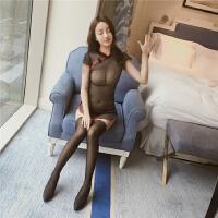 情趣内衣旗袍风古典透视承认有货套装短裙真人制服骚紧身新款 黑色 均码 80-125斤