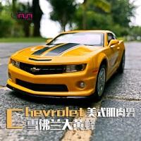 儿童玩具回力小汽车四开门跑车声光合金车模型1:32