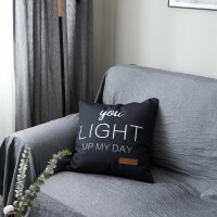 北欧简约现代抱枕飘窗沙发靠垫办公室午休靠枕床品搭配装饰枕