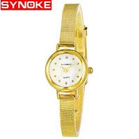 时诺刻 电子手表 手表女士网带休闲时尚 生活防水 装饰手表 时尚经典女士 学生手表