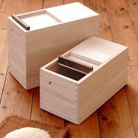 厨房用品防潮防蛀 桐木保鲜米桶储米箱10KG