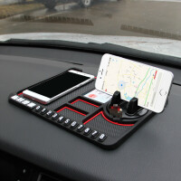 汽车手机支架车载防滑垫车用车内导航仪表台车载多功能置物垫装饰