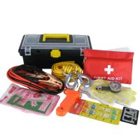 车用应急箱车载应急包自驾随车工具箱 汽车急救搭火线救援工具箱
