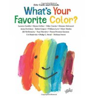 Eric Carle: What's Your Favorite Color? 英文原版:你*喜欢什么颜色?――绘本大