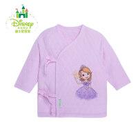 【限时抢:12】迪士尼Disney婴儿保暖上衣宝宝绑带加厚上衣新生儿衣服154S675