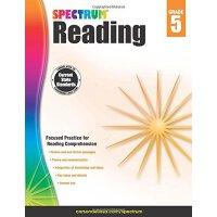 【现货】英文原版 光谱阅读练习册 5年级 Spectrum Reading Workbook, Grade 5