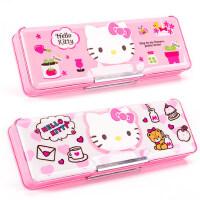 Hellokitty凯蒂猫文具盒女小学生文具用品创意塑料文具盒可爱多功能网红抖音文具盒女孩铅笔盒收纳盒
