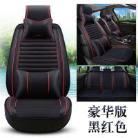 汽车坐垫新款四季通用荞麦壳亚麻亚麻座垫个性全包围车内用品座套