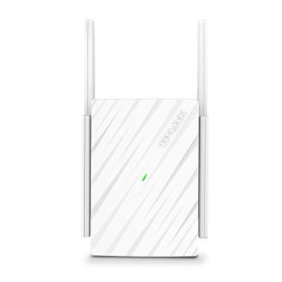 TP-LINK双频wifi放大器无线扩展器中继家用5g路由器智能信号增强光纤四天线大户型TL-WDA6332RE 新品上市 双频1200M无线扩展器 四天线