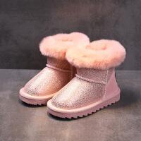 №【2019新款】冬天小朋友穿的儿童雪地靴子2018新款女童鞋冬短靴男童棉鞋潮
