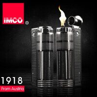 IMCO 爱酷品牌 金属煤油防风打火机 时尚复古礼品火机 麻点全黑