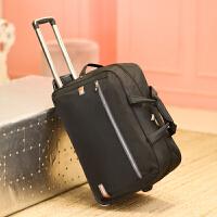 20180507125747143旅行包女手提拉杆包大容量带轮子行李包旅行袋待产包防水可折叠潮