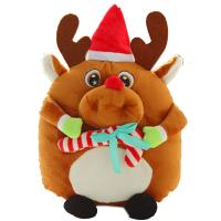 暖手抱枕公仔毛绒玩具玩布娃娃圣诞节礼物儿童生日礼物女
