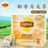 Lipton/立顿茶包韵香乌龙茶360g袋泡茶包200包商用采购即冲小茶叶