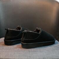 雪地靴女短筒2018新款潮韩版百搭学生冬季保暖加绒棉鞋面包鞋