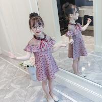 童装连衣裙女童夏装新款夏季时尚韩版洋气中大童儿童公主裙子