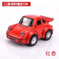 合金声光回力小汽车模型迷你玩具 儿童玩具车Q版甲壳虫合金车模