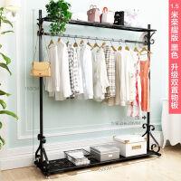 卧室落地凉衣架室内单杆式晾衣杆挂衣服架子家用晒衣架折叠晾衣架 1个