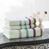 竹纤维毛巾浴巾三件套 柔软吸水浴巾礼盒套装团购商务礼品