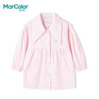 【1件2折】巴拉巴拉旗下MarColor马卡乐春新品女童卡通樱桃刺绣梭织外套