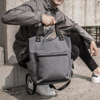时尚潮流手提旅行包背包男 韩版男个性休闲防泼水背包 新款双肩包