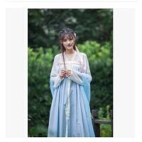 2018年新款古装服装仙女唐朝古代汉服演出服舞蹈襦裙公主贵妃古典舞唐装女装