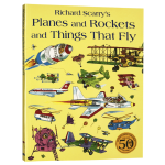 会飞的大家伙 英文原版 Planes and Rockets and Things That Fly 斯凯瑞金色童书