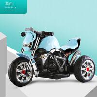 W 儿童车电动摩托车三轮车宝宝车子1-3-5岁小孩玩具可坐人童车充电B31