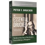 德鲁克管理思想精要 英文原版 The Essential Drucker 英文版进口英语管理学书籍 正版现货