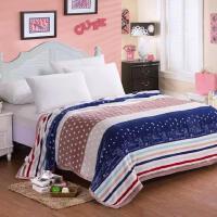 ???法莱绒毛毯 加厚珊瑚绒法兰绒空调毯定做床上用品 (被套)