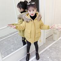 女童棉衣冬装韩版宝宝棉袄儿童短款小中大童加厚外套