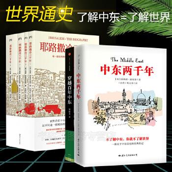 全6册 耶路撒冷三千年1234+中东两千年一本了解中东历史+穿越百年中东 世界为何演变成的模样外国历史休闲名著基督教宗教书籍