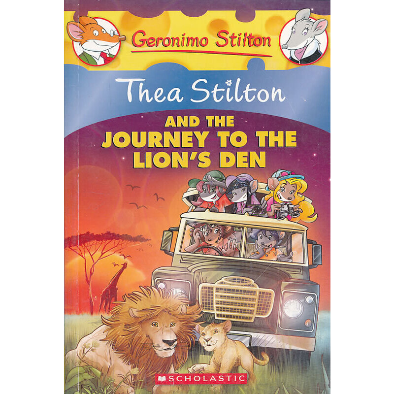 Thea Stilton #17: Thea Stilton And The Journey To The Lion'S Den 老鼠记者之西娅 17:西娅与狮子的地盘 ISBN 9780545556279