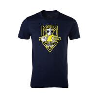 361度男装正品运动短袖T恤夏季新款361休闲圆领短T恤551629133