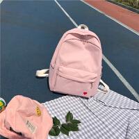 书包少女韩版潮高中初学生双肩包2018新款ins超火的街拍背包