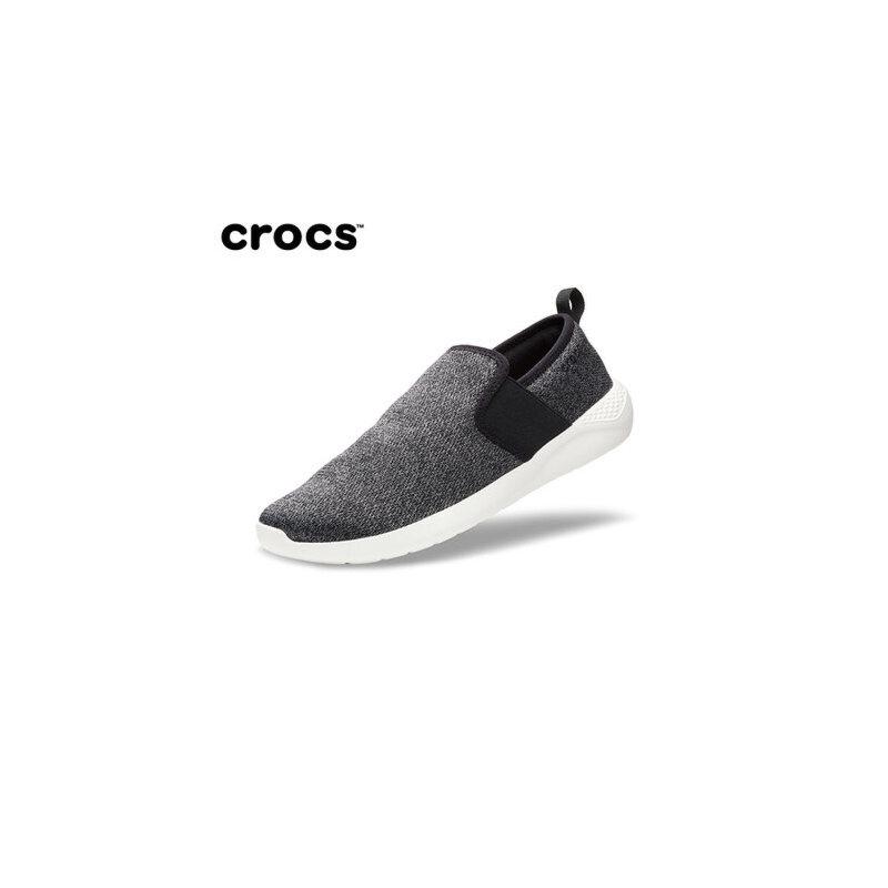 【下单立减150】Crocs男鞋 卡骆驰新款 男士LiteRide便鞋厚底潮流懒人鞋|205170 男士LiteRide便鞋 crocs冬季上新大促