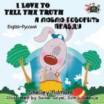 【预订】I Love to Tell the Truth: English Russian Bilingual Edi