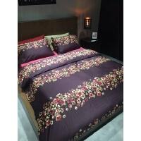 床品 美式60支贡缎埃及长绒棉四件套全棉婚庆床上用品