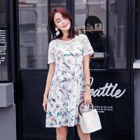 韩版中长款孕妇装孕妇连衣裙夏装两件套装2018新款潮妈