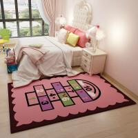 卡通儿童房地毯公主宝宝爬行垫 儿童地毯床边卧室客厅可定制