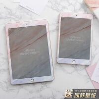 ipad pro10.5钢化膜女款2017卡通苹果迷你4高清mini2保护air2贴膜