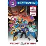 英文原版 超能陆战队系列 Step into Reading 3: Big Hero 6: Fight to the