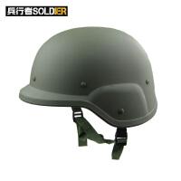 军迷户外装备用品M88头盔 CS战术盔PC塑料头盔