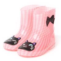 幼儿园儿童雨鞋男女童水鞋小学生加绒加棉保暖卡通雨靴防水鞋