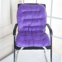 冬季椅子坐垫靠垫一体学生屁股垫电脑椅凳子垫保暖办公室座垫加厚